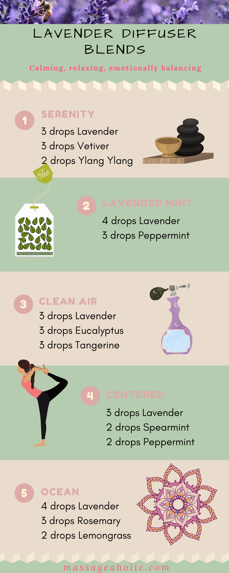 Lavender diffuser blends, lavender essential oil, #lavender, #essentialoils, #relaxing, #calming