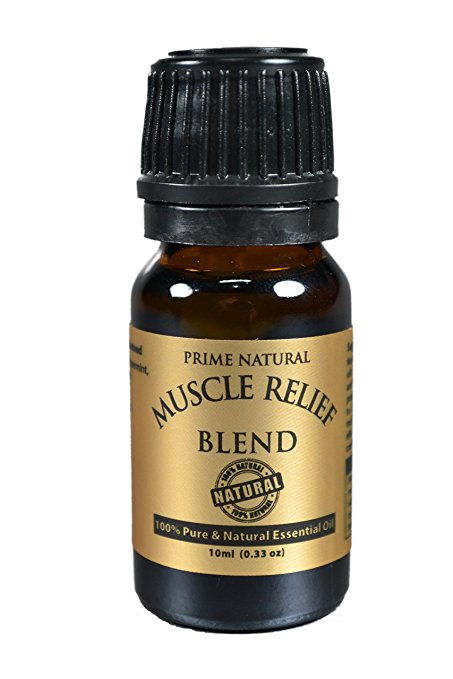 Muscle Relief Essential Oil Blend
