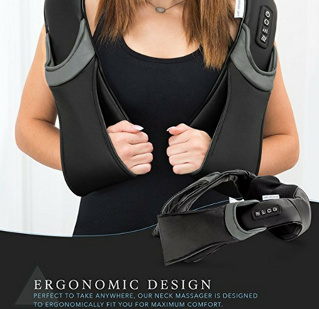 Restorology Deep Kneading Heated Shiatsu Massager