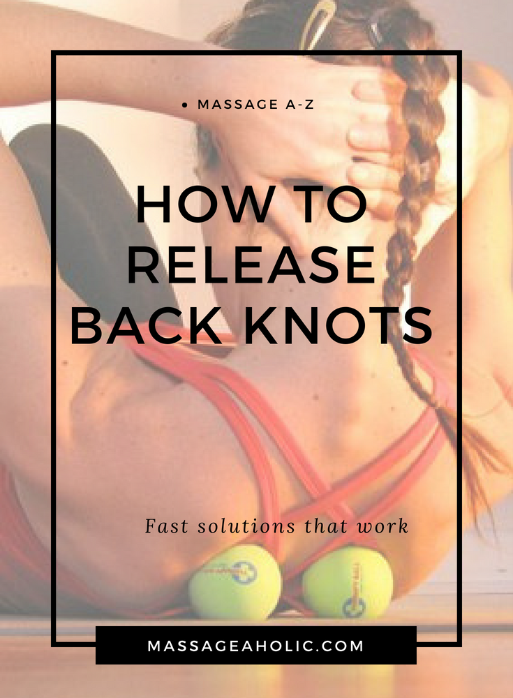 tips to release back knots
