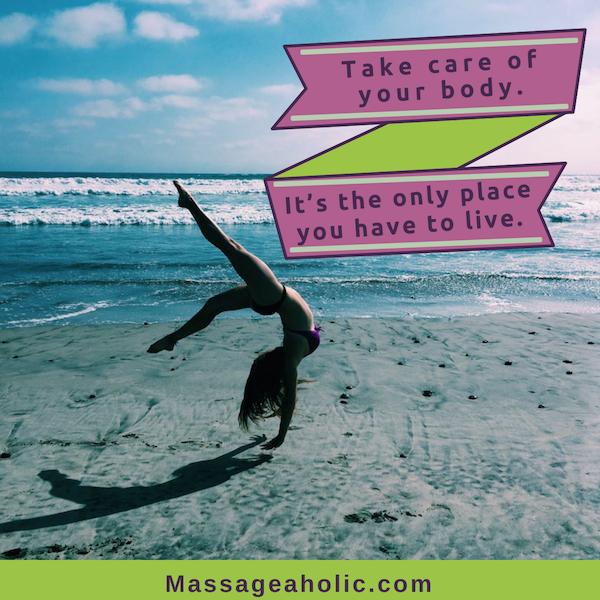 Self-care quote body