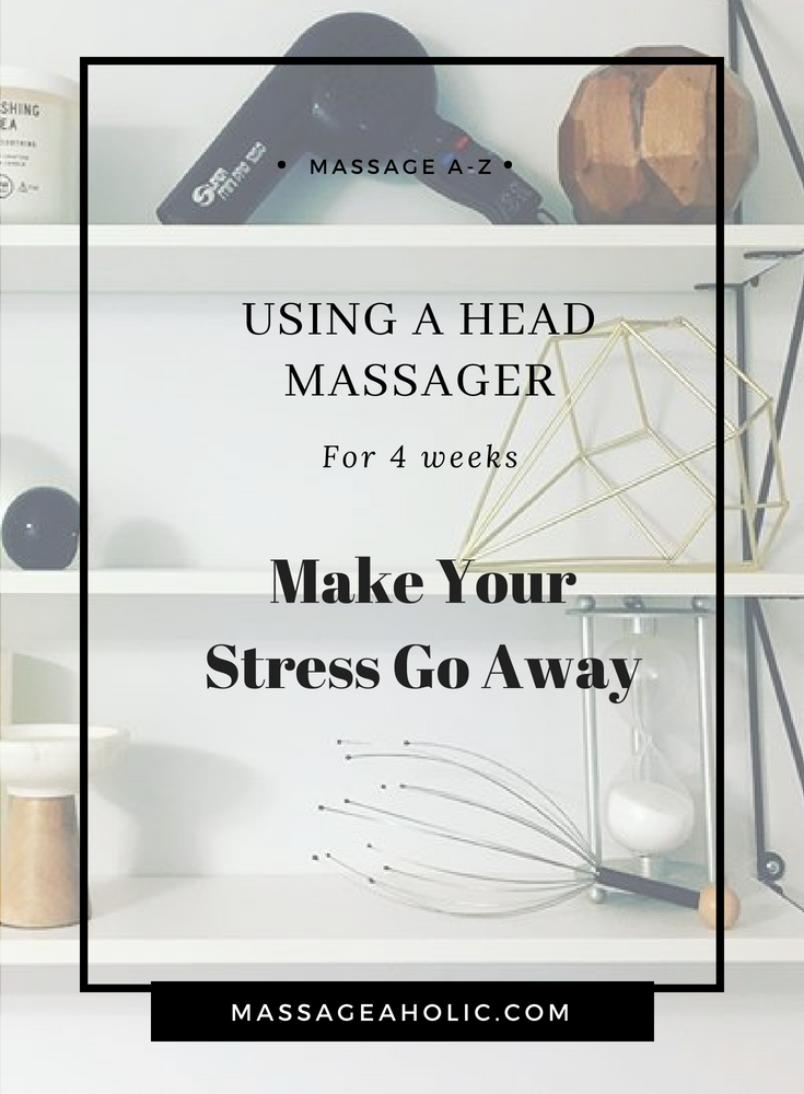 head massager, head massage, scalp massage benefits, get rid of stress,