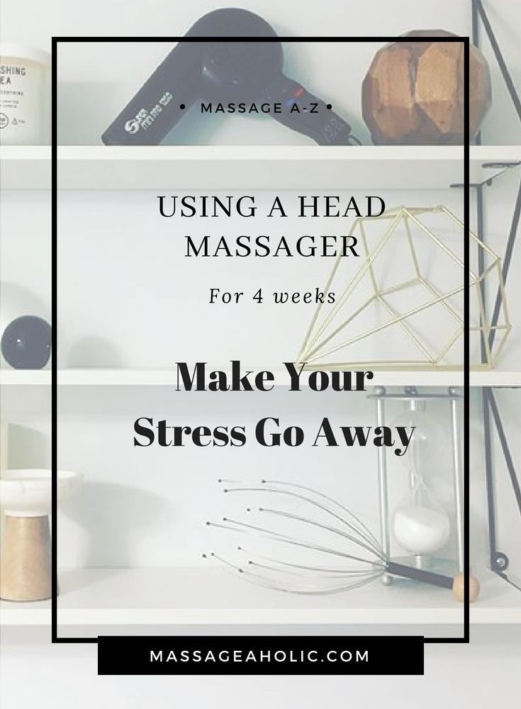 head massager, head massage, scalp massage benefits, get rid of stress,