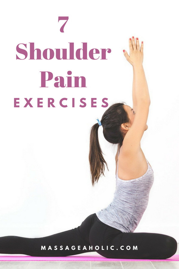 7 shoulder pain exercises