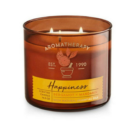 "Bath & Body Works ""Happiness"" candle"