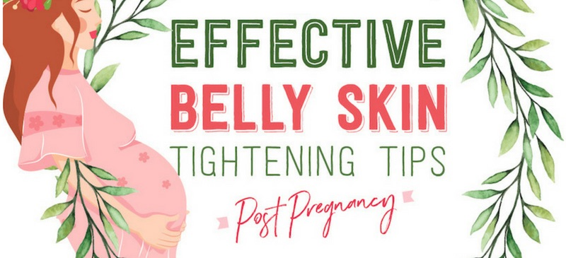 Belly skin tightening post pregnancy