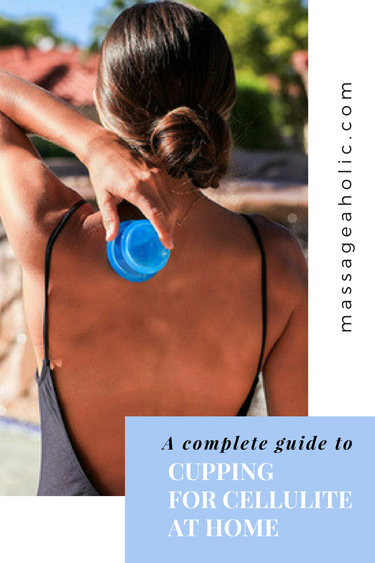 DIY cupping massage for cellulite at home