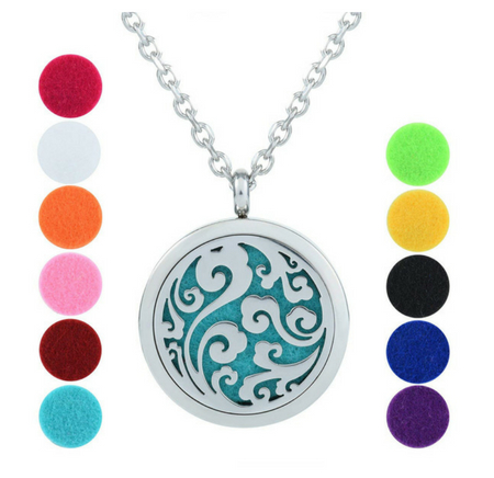 GerTong Essential Oil Diffuser Necklace