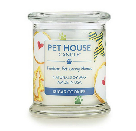 Holidays Fur All Candle