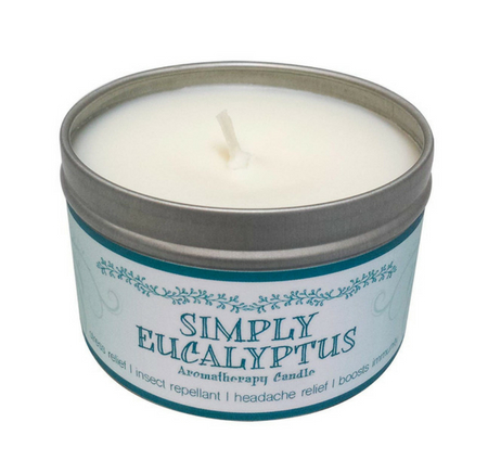 Simply Eucalyptus Scented Candle