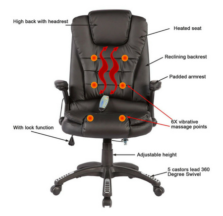 Fine 10 Best Ergonomic Massage Office Chairs Get A Massage At Pdpeps Interior Chair Design Pdpepsorg