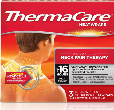 Thermacare Advanced Neck Pain Therapy Heat Wrap