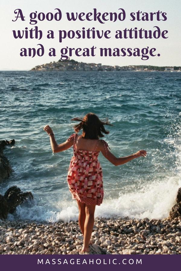 Weekend massage quote