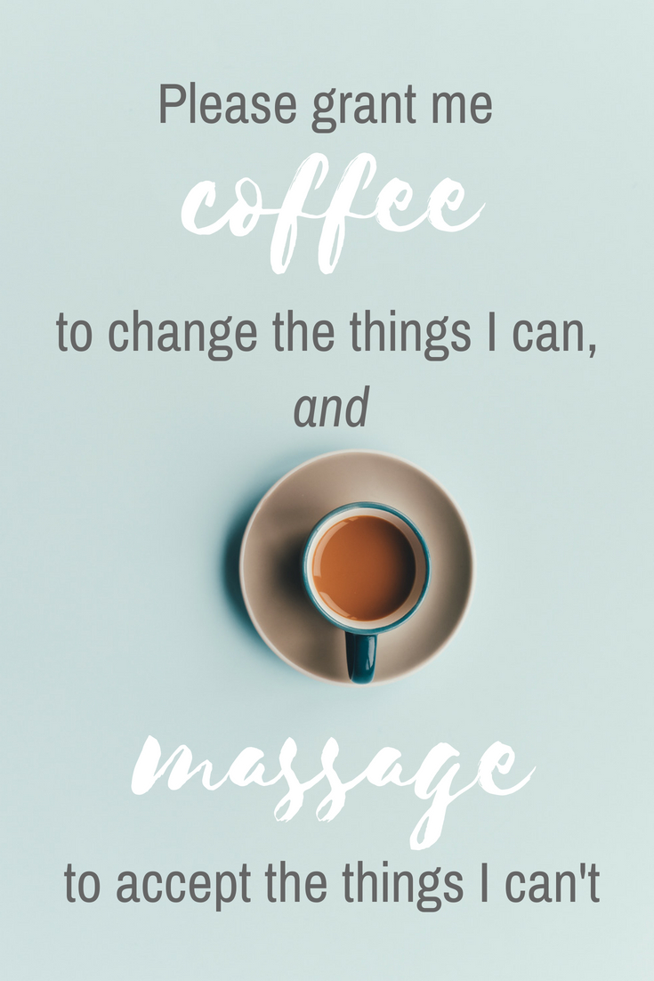 grant me coffee and massage quote
