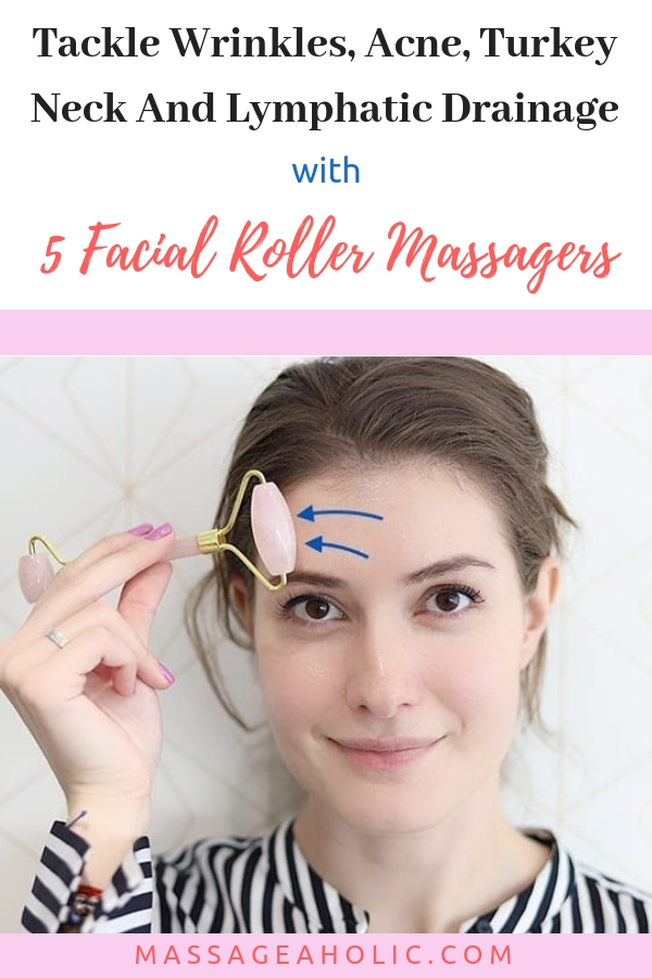 Facial roller massagers; micro-needle roller; jade roller; 3d massage roller; derma roller