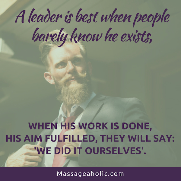 Lao Tzu Quote on Leadership