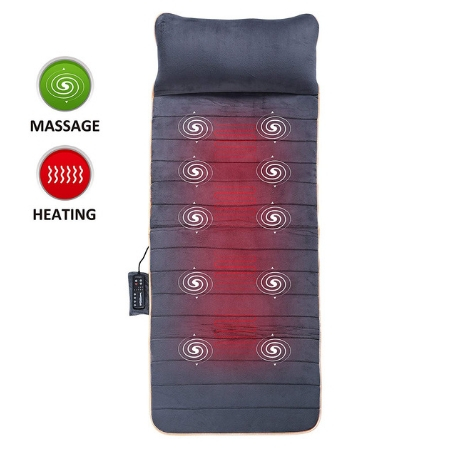 Massage Mat with 10 Vibrating Motors
