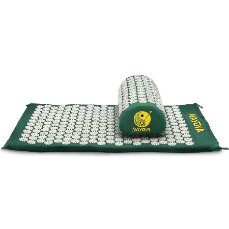 Acupressure Mat and Pillow Set by Nayoya Wellness