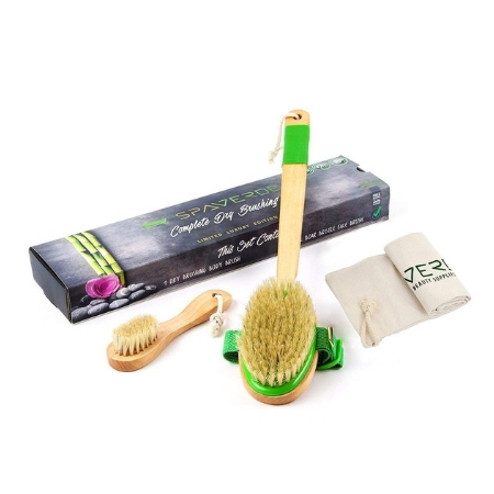 Dry Brushing Body Brush Set by SpaVerde