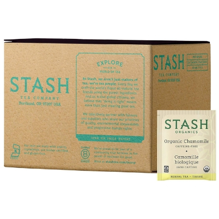 Stash Tea Organic Chamomile Herbal Tea