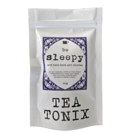 Tea Tonix Be Sleepy Relaxing Bedtime Tea