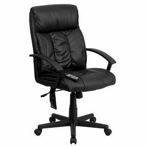 Flash Furniture High Back Black Office Massage Chair