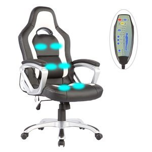 Mecor Race Car Style Massage Office Chair