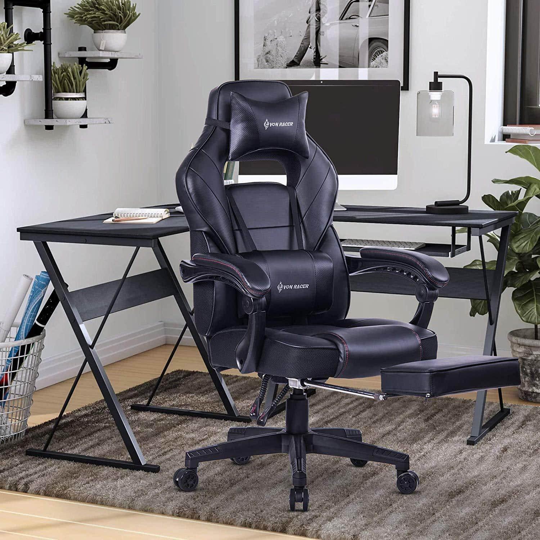 VON RACER Recliner Gaming Massage Office Chair
