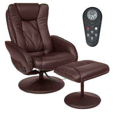 Best Choice Massage Recliner with Footrest Ottoman