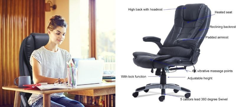 Civigrape Ergonomic Massage Office Chair Review