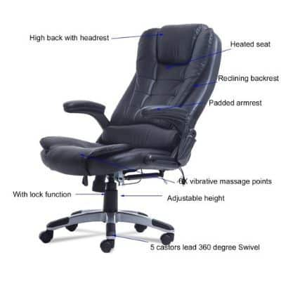 Ergonomic Massage Office Chair