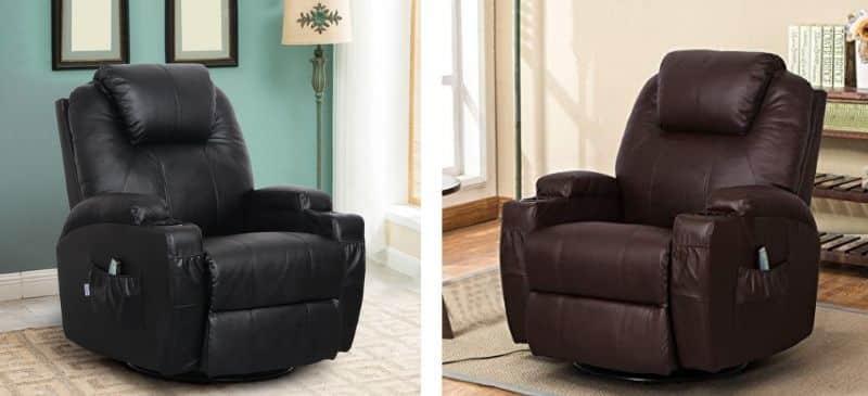 Esright Heated Massage Recliner Chair Revi