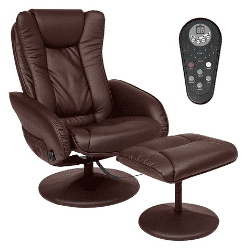 Faux Leather Electric Massage Recliner
