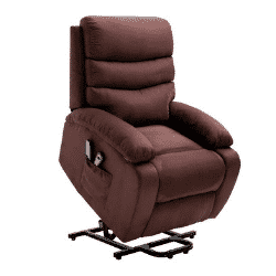 Homegear Microfiber Electric Recliner