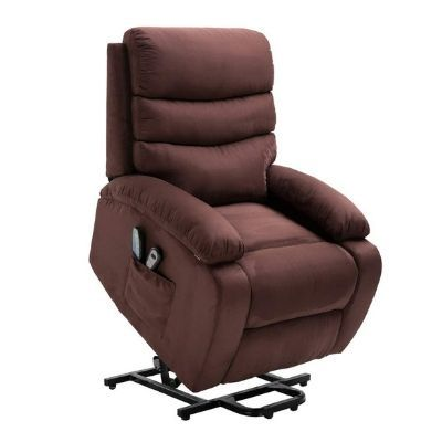 Homegear Microfiber Power Lift Massage Recliner