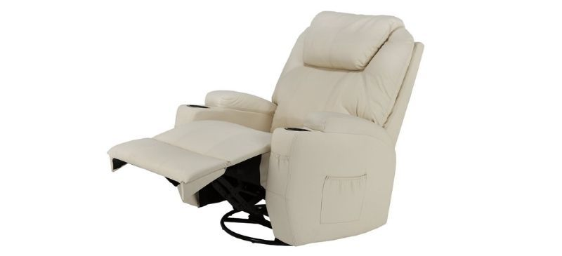 Homegear Recliner Chair with 8 Point Massage