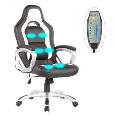 Mecor Car Race Massage Office Chair Review (1)