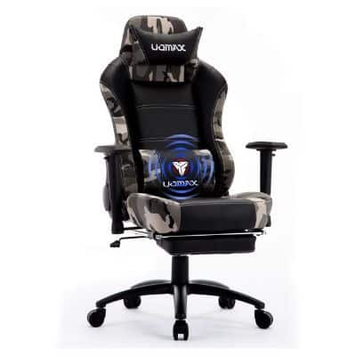 Uomax Reclining Massage Gaming Chair