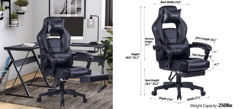 Von Racer Massage Office Chair Review