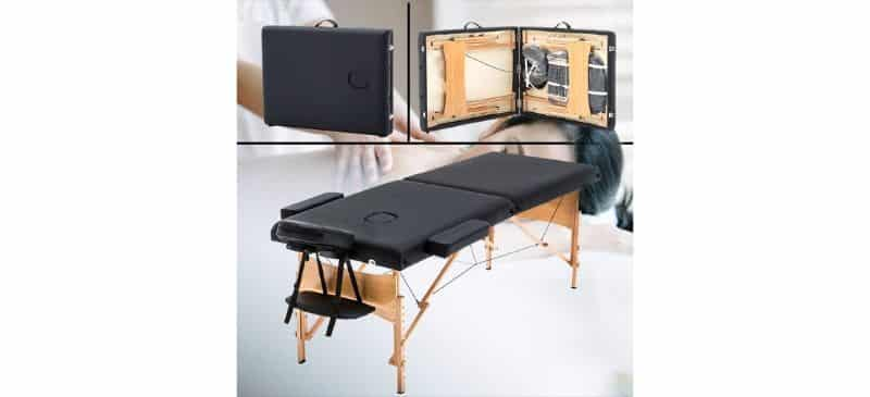 BestMassage Portable Massage Table Spa Bed Review