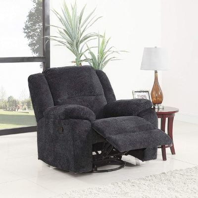 Divano Roma Oversized Rocker and Swivel Recliner