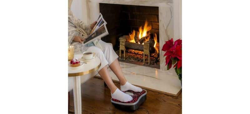 Farnsworth & Loyd vibrating foot massager with IR Therapy Review