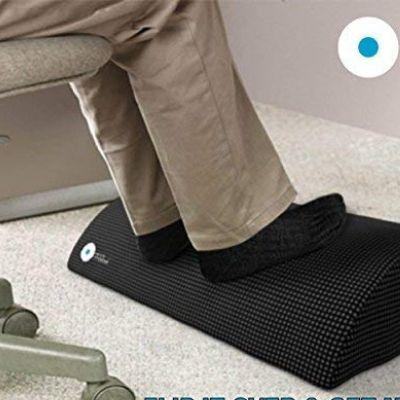 Foot Rest Under Desk Non-Slip Ergonomic Footrest Foam Cushion by Office Ottoman
