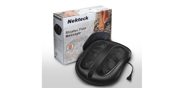 Neckteck foot massager with heat review
