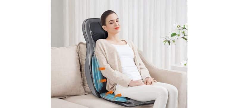 Comfier Shiatsu Neck & Back massage cushion review