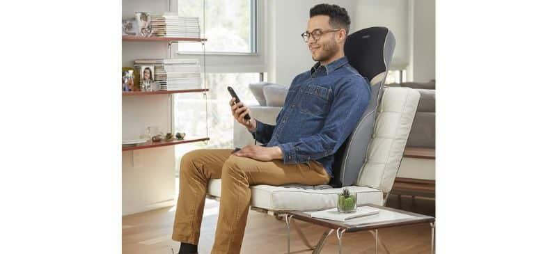Homedics Quad Shiatsu Massage Cushion With Heat Review