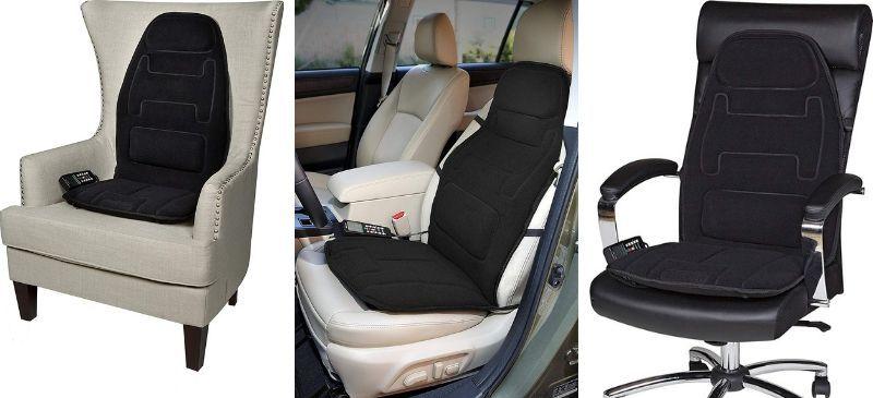 Relaxzen 10 motor massage seat cushion review