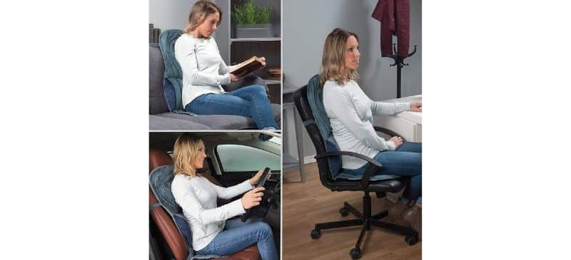 Wahl heated lumbar massage home & auto cushion Review