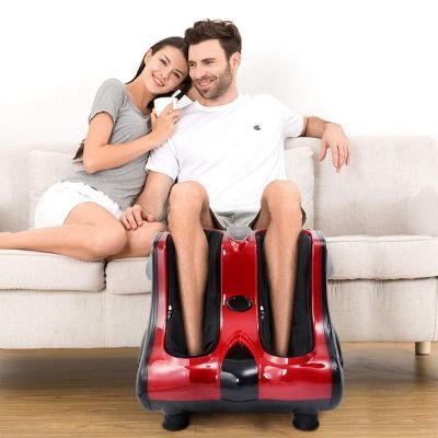 Giantex Shiatsu Kneading Rolling Vibration Heating Foot Calf Leg Massage
