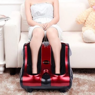 Shiatsu Kneading, Rolling & Heating Foot & Calf Massager By HM Relax